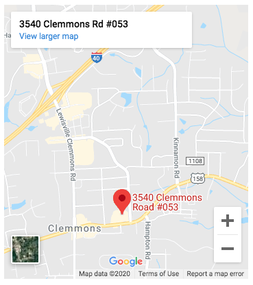 Google Map of Clemmons Family Law Office