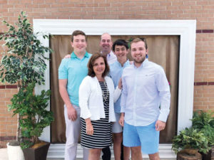 Holly M. Groce and family in Clemmons, North Carolina